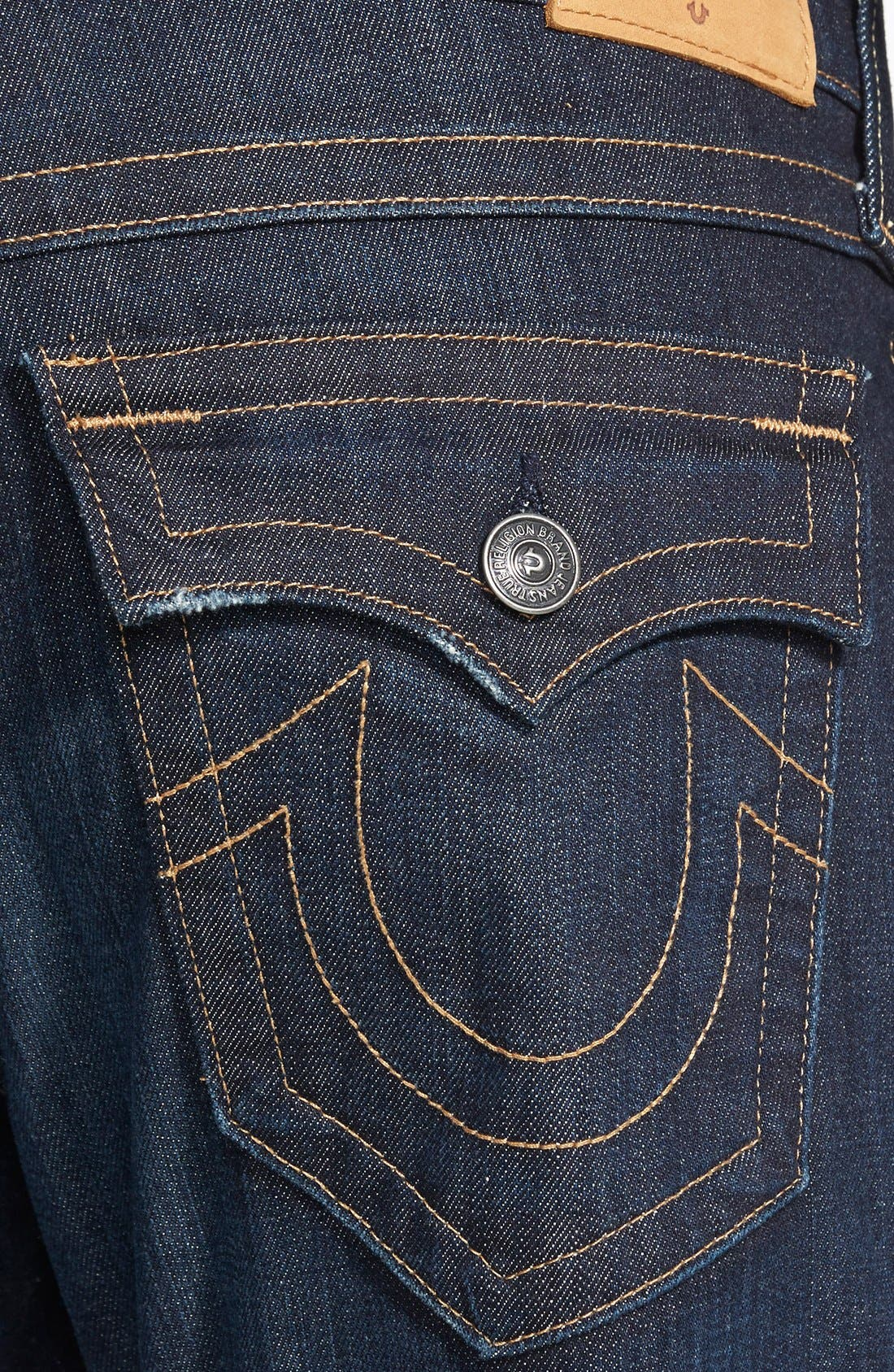 Alternate Image 4  - True Religion Brand Jeans 'Ricky' Relaxed Fit Jeans (Wanted Man)