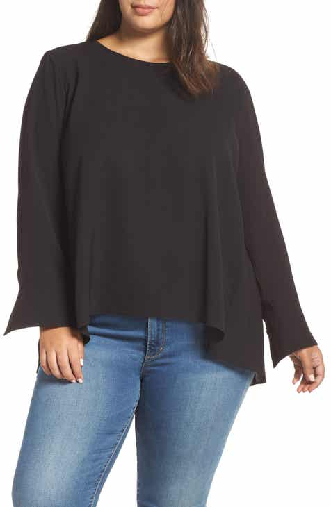 c8ffb65ffded Everleigh Pleat Back Top (Plus Size)