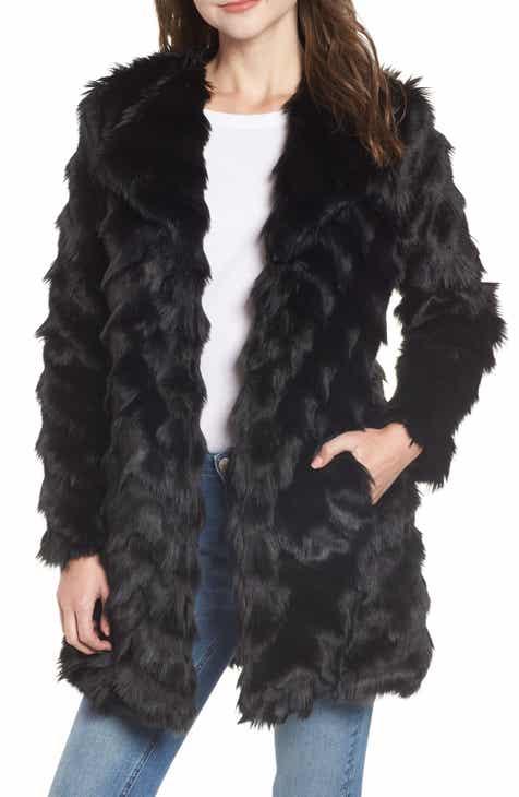 20f47e67864c BB Dakota It s All Happening Faux Fur Coat