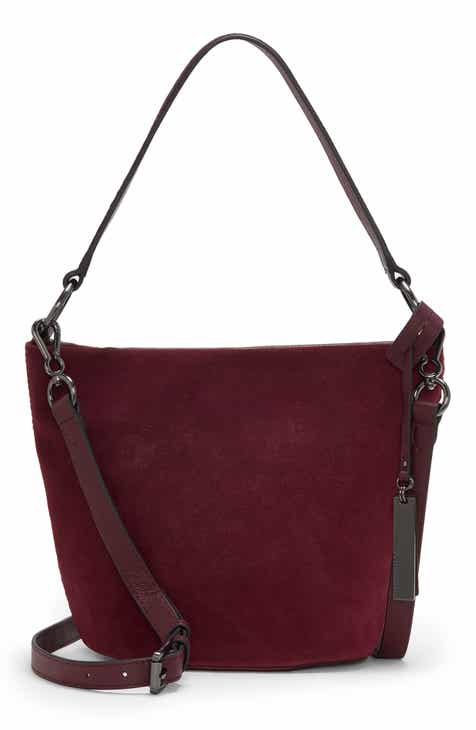 Vince Camuto Suza Leather Bucket Bag
