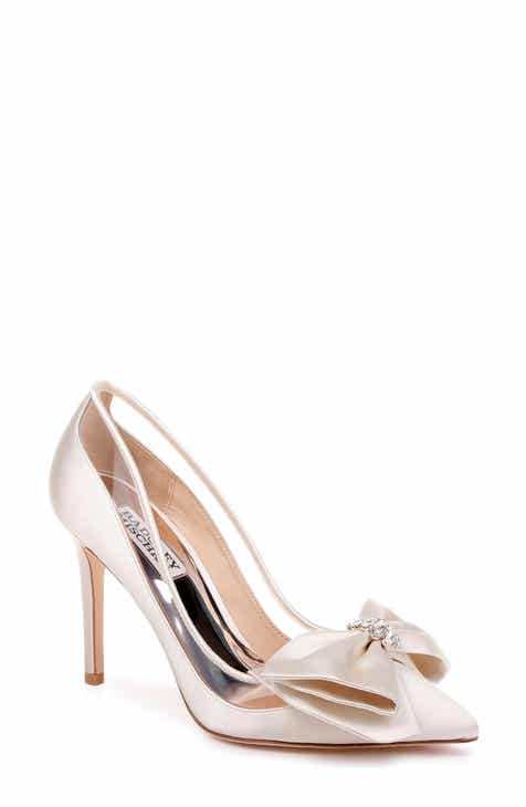 5eb7f6b2f Badgley Mischka Frances Bow Pump (Women)