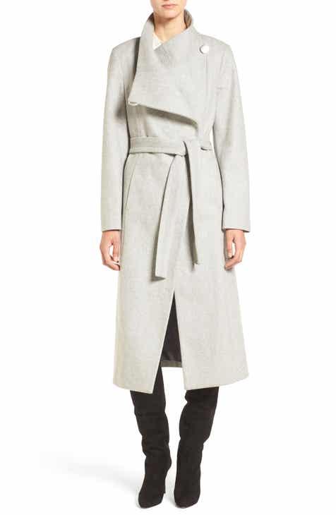 9e227a8ab1a52 Kenneth Cole New York Fencer Melton Wool Maxi Coat