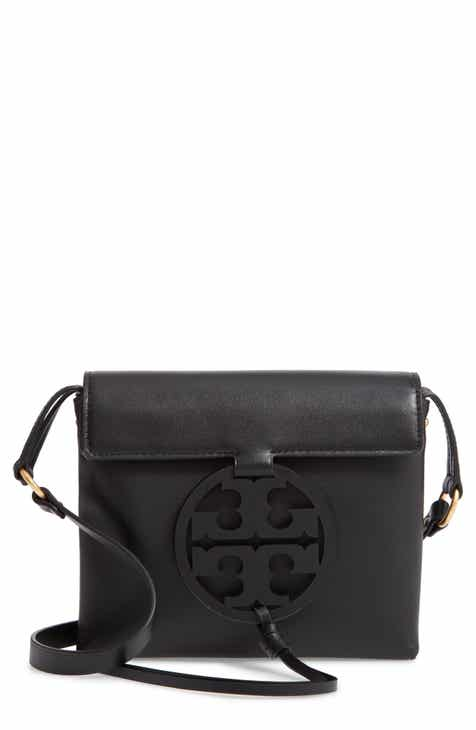 c618dce6ae47 Tory Burch Miller Leather Crossbody Bag
