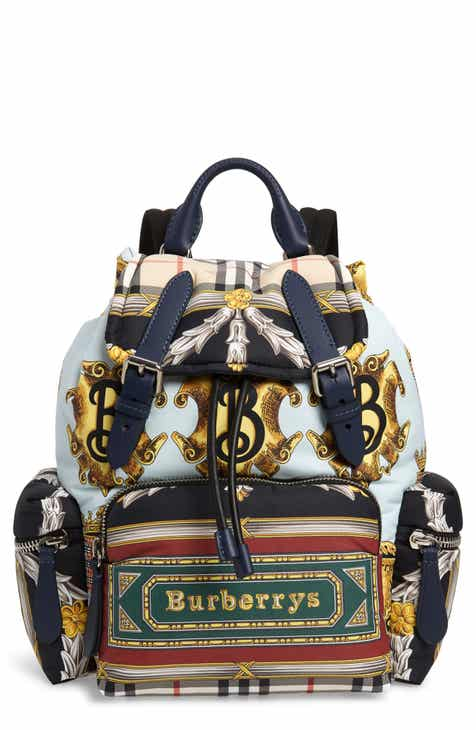 Burberry Medium Archive Scarf Print Rucksack 40c5612a9646f