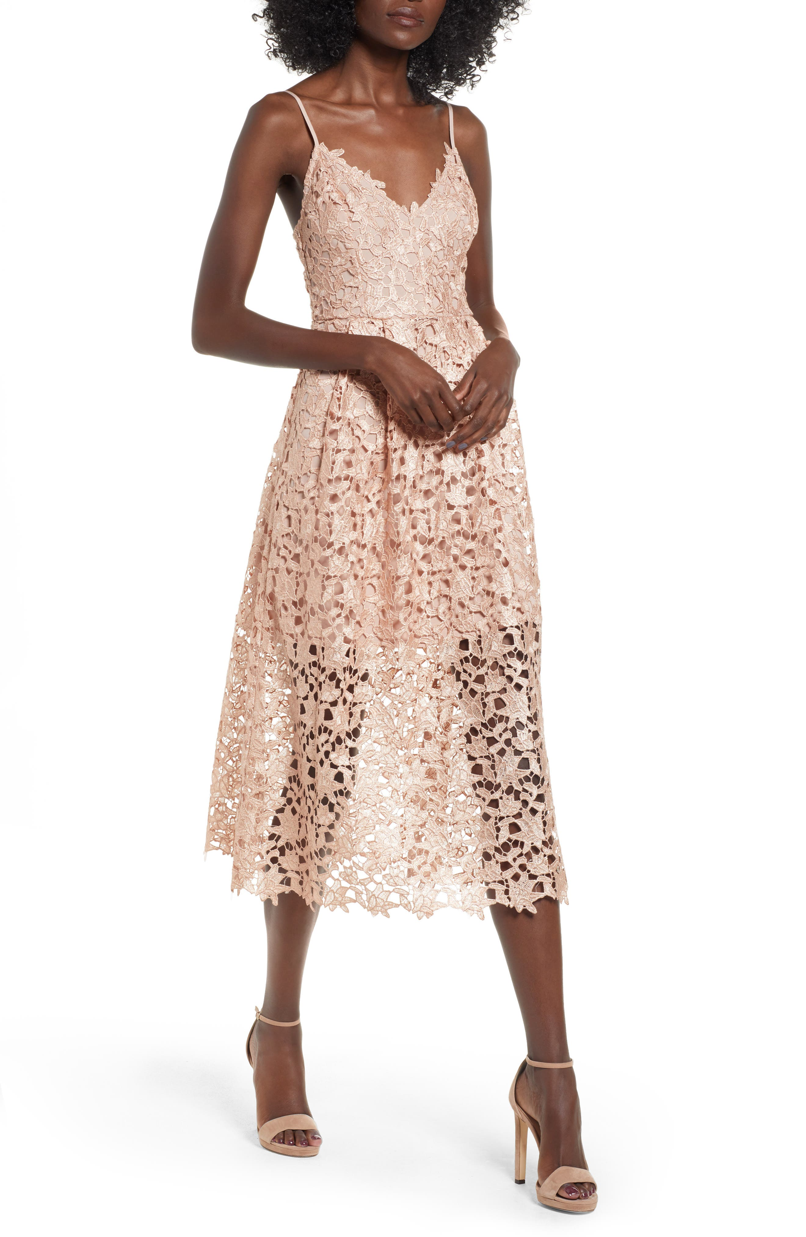 Lace Wedding Guest Dresses for Reception