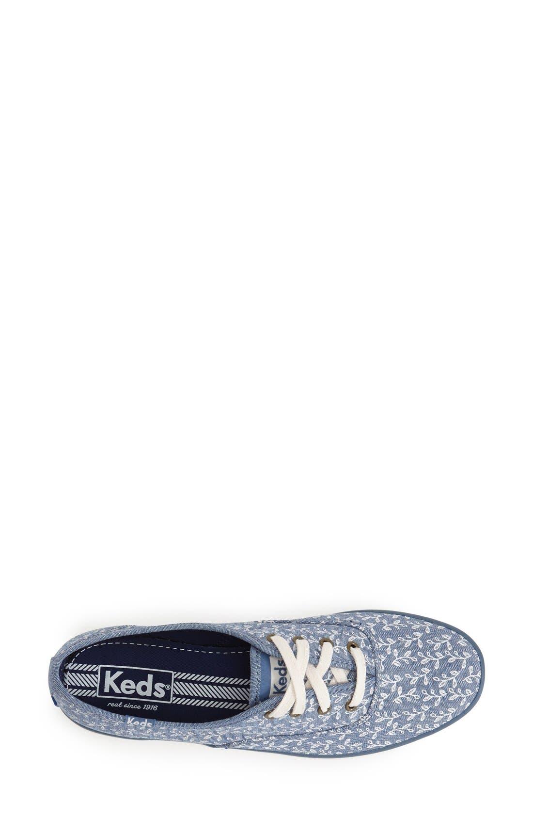 Alternate Image 3  - Keds® 'Champion - Botanical' Sneaker (Women)