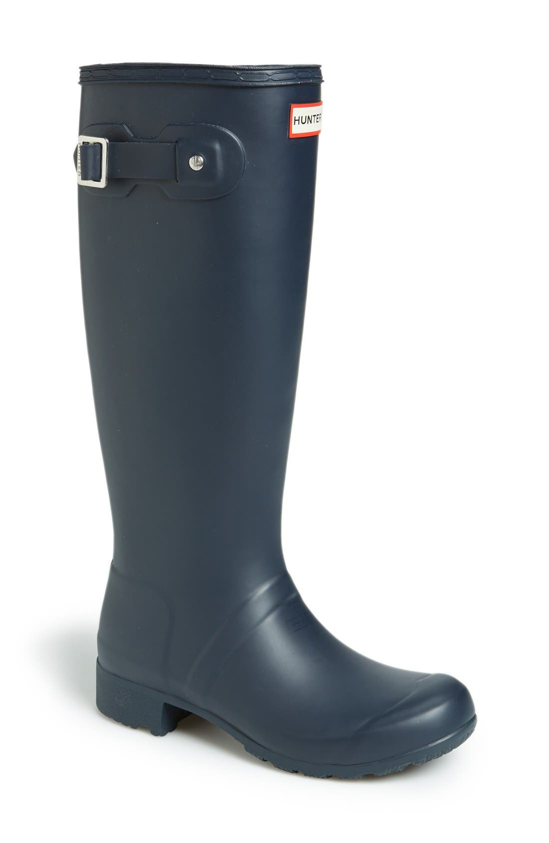 Alternate Image 1 Selected - Hunter 'Tour' Packable Rain Boot (Women)