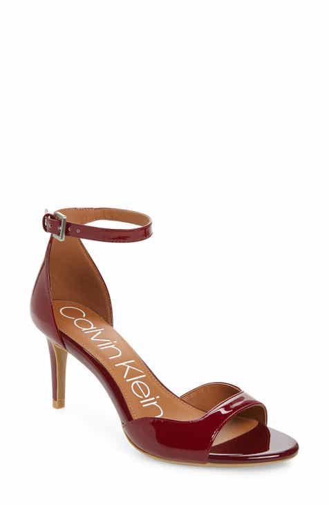 650712fa8dd Calvin Klein Luellen Ankle Strap Sandal (Women)