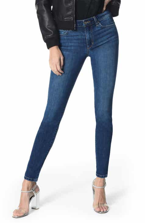 FRAME Le High Crop Skinny Jeans (Sulham) by FRAME DENIM