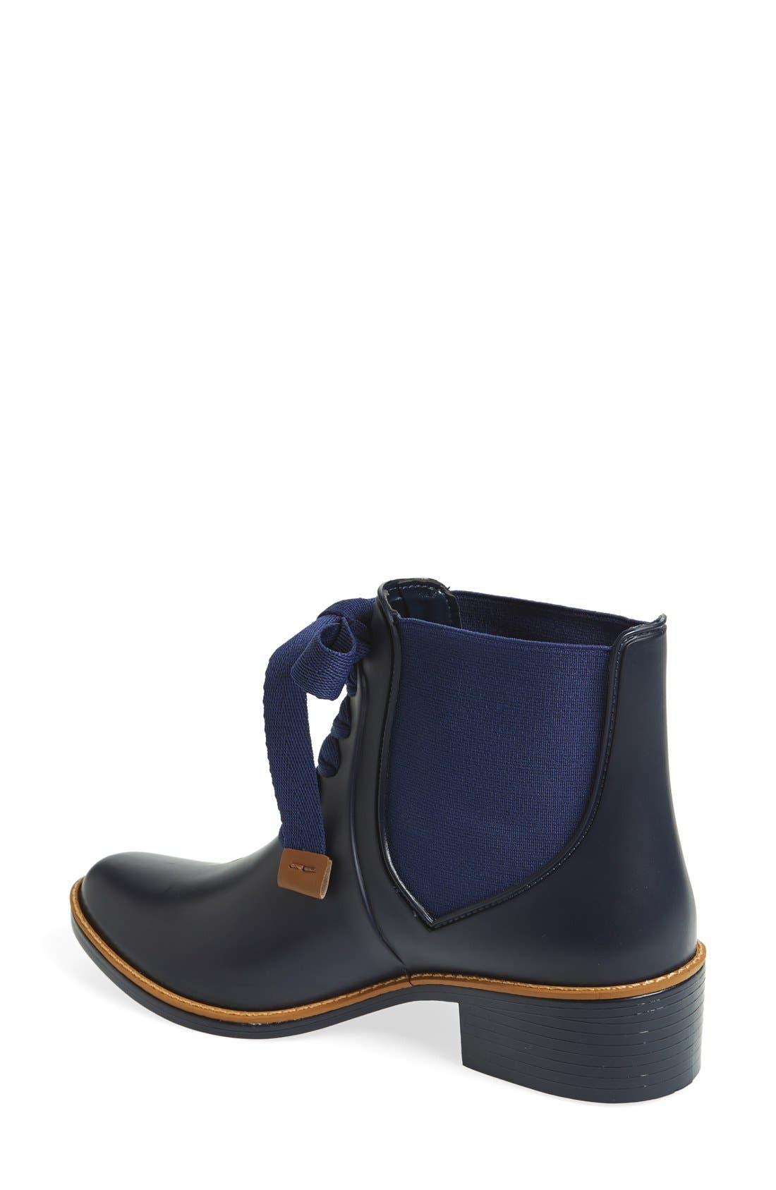 Alternate Image 3  - Bernardo Lacey Short Waterproof Rain Boot (Women)