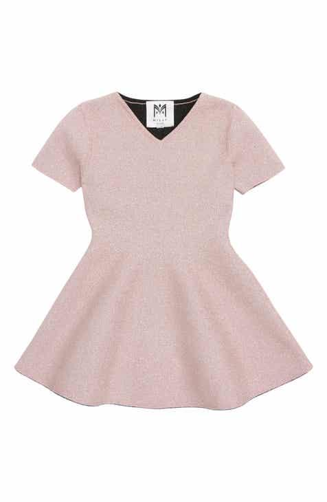 9221ca83ab1 Milly Minis Metallic Skater Dress (Toddler Girls   Little Girls)
