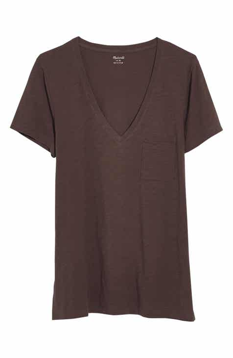 140b2029bbbe Madewell Whisper Cotton V-Neck Pocket Tee (Regular   Plus Size)