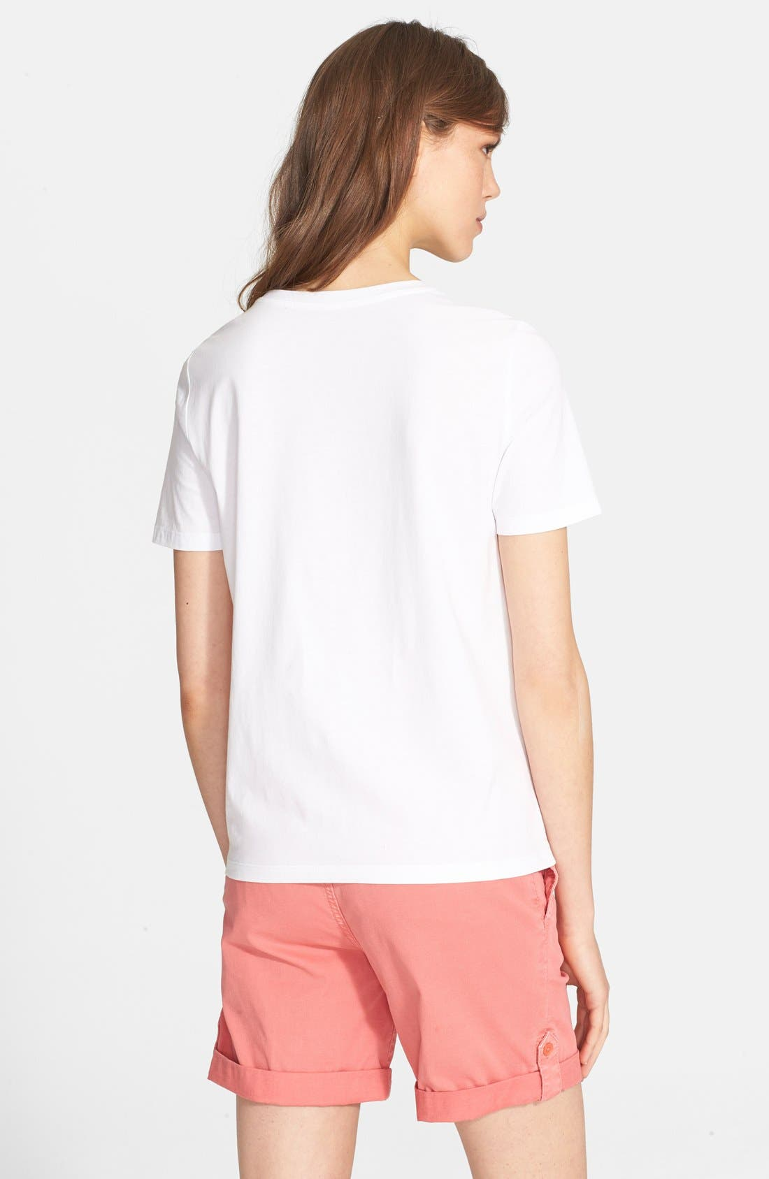 Alternate Image 2  - Tory Burch Cotton Jersey Tee