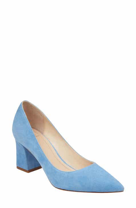 969910ac899 Product Image. MEDIUM BLUE SUEDE