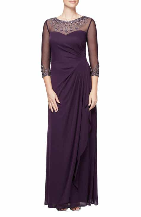 Womens Purple Formal Dresses Nordstrom