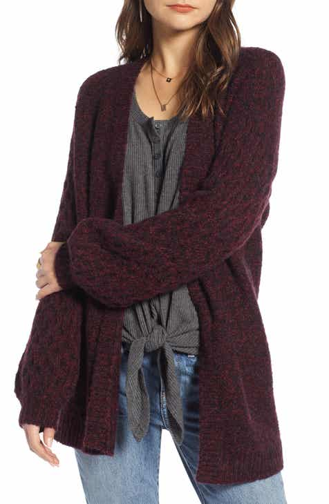 Treasure   Bond Chunky Knit Open Front Cardigan 2b6a3430c