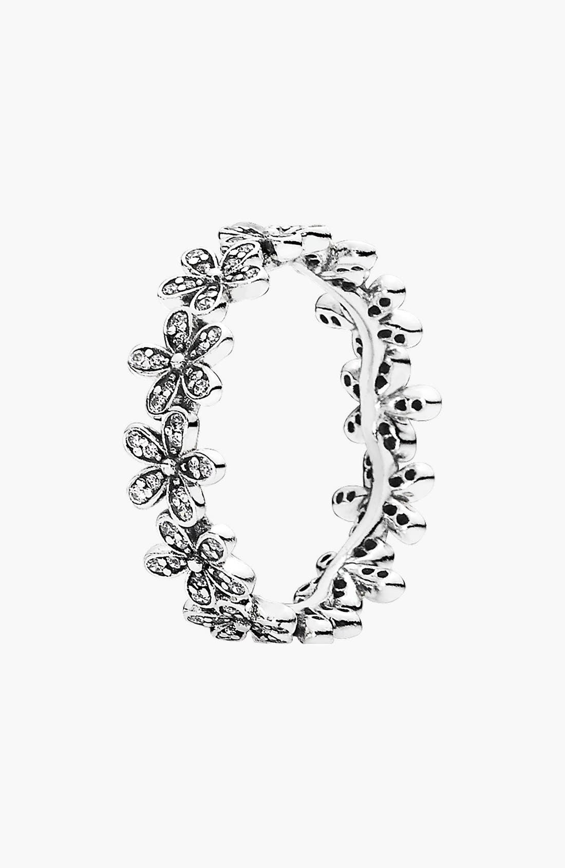 Alternate Image 1 Selected - PANDORA 'Dazzling Daisy Meadow' Ring