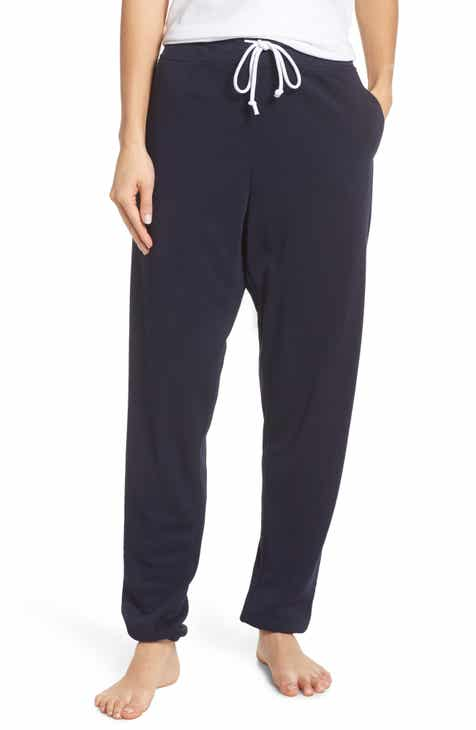Something Navy Fleece Jogger Pants (Nordstrom Exclusive) by SOMETHING NAVY