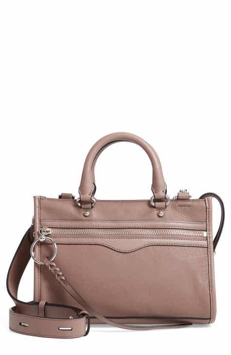 a8a76754b461 Rebecca Minkoff Micro Bedford Leather Satchel
