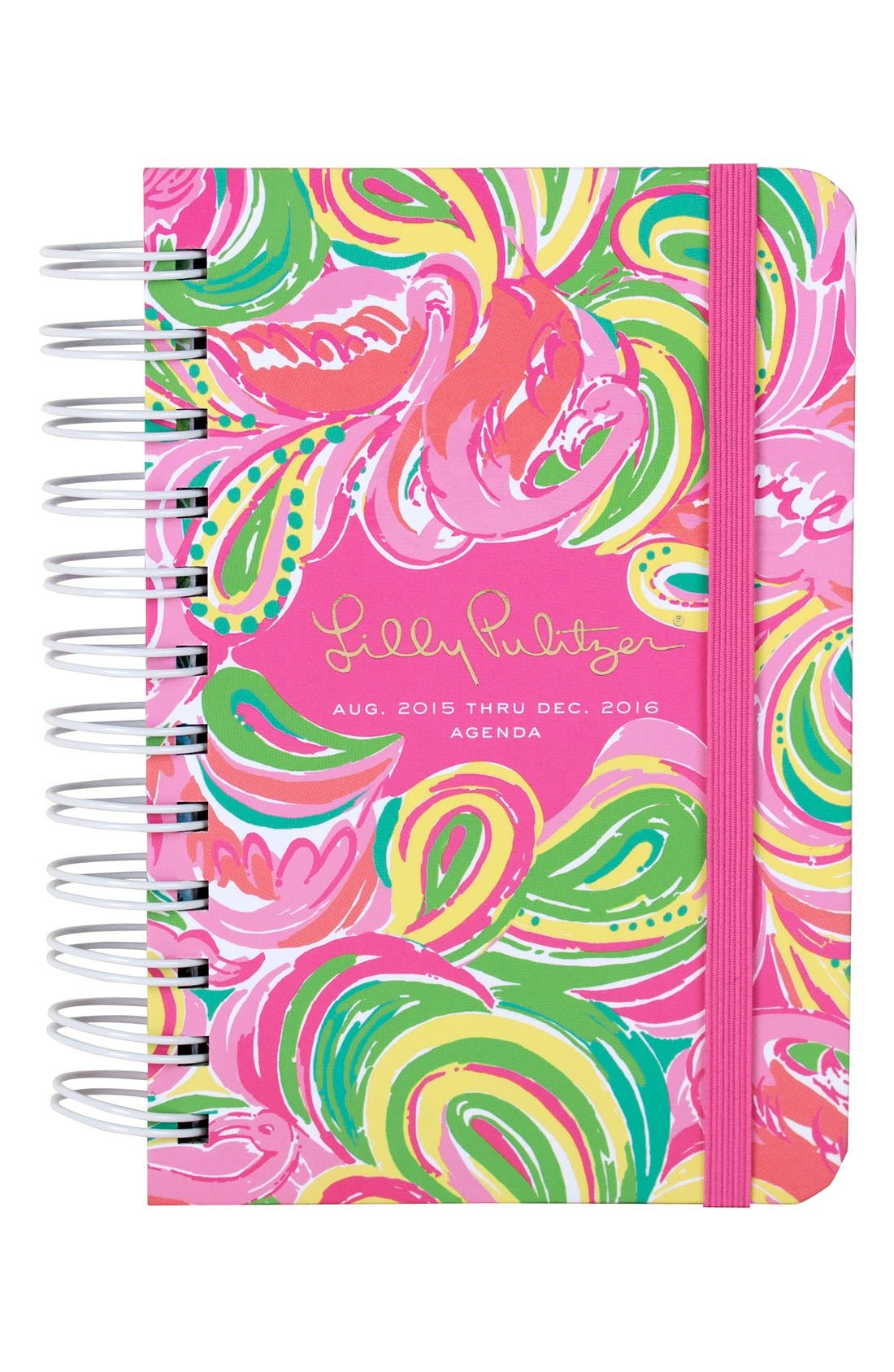 Lilly Pulitzer Pocket 17-Month Agenda,                             Main thumbnail 1, color,                             All Nighter