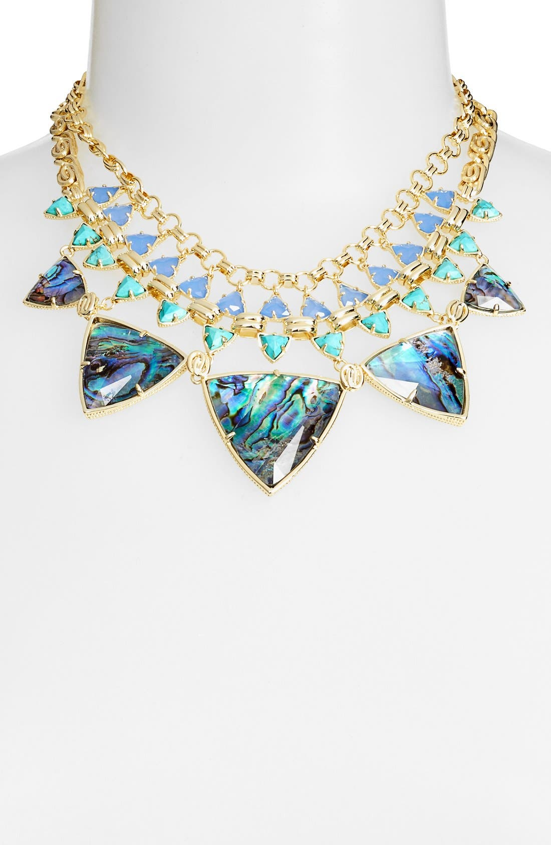 Alternate Image 2  - Kendra Scott 'Emily' Stone Statement Necklace