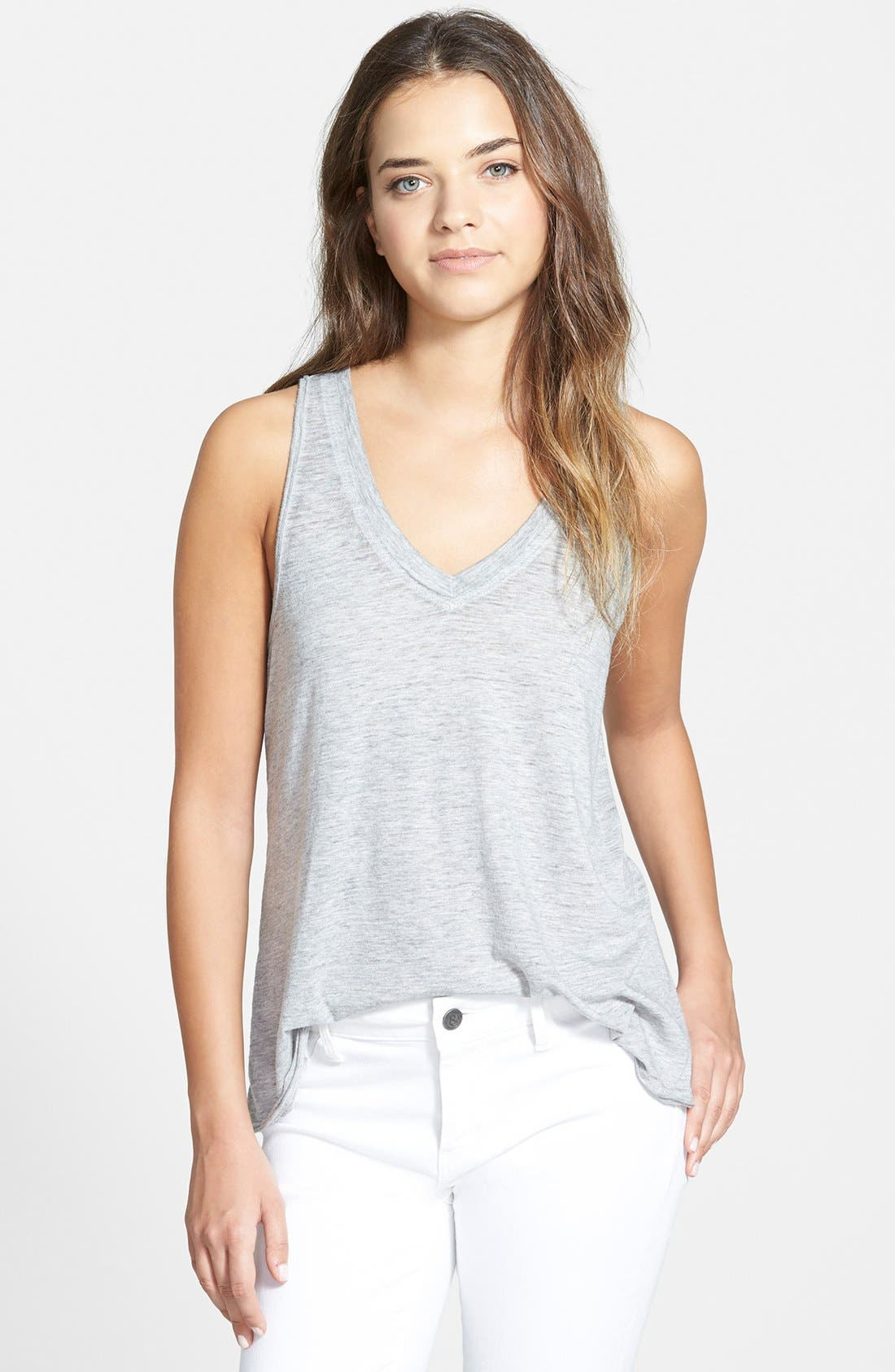 Alternate Image 1 Selected - Stem Flowy Lightweight V-Neck Tank