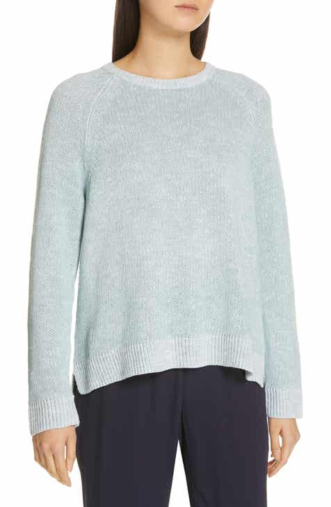 Eileen Fisher Organic Linen   Cotton Sweater 04d7783ec