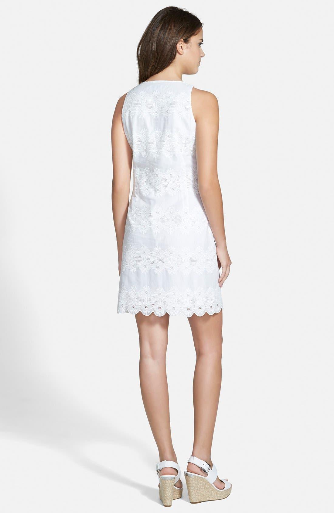 Alternate Image 2  - Vineyard Vines Ruffle Shift Dress
