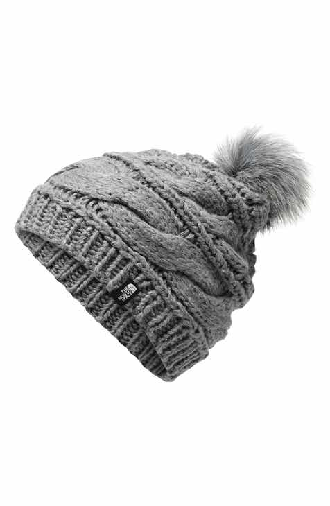 233ccca7223a3 The North Face Triple Cable Pom Beanie
