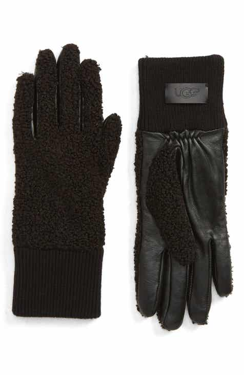 UGG® Faux Shearling Touchscreen Compatible Gloves 46815fb53a