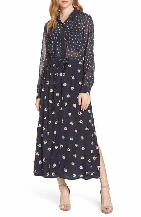 e365601eb06 French Connection Adelise Maxi Shirtdress