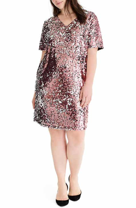 2e3f2cb6e48 Universal Standard for J.Crew Sequin Shift Dress (Plus Size)