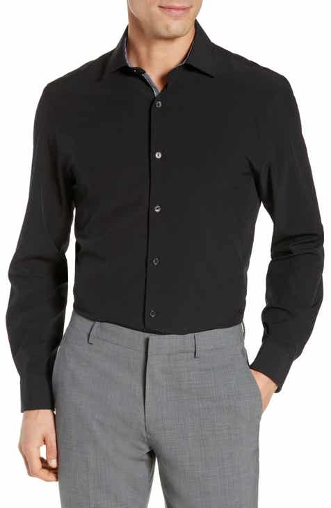 1b4bce19 W.R.K Slim Fit Stretch Solid Dress Shirt