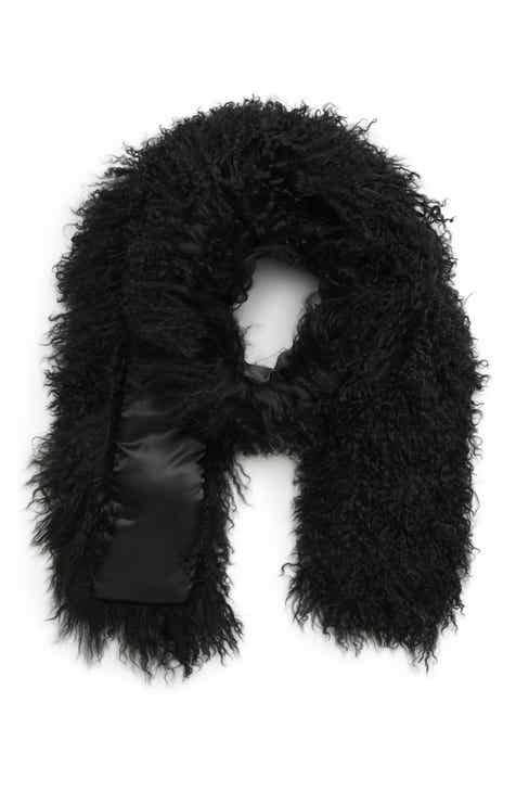 Toria Rose Genuine Mongolian Lamb Fur Scarf (Special Purchase) aa860a0cb58