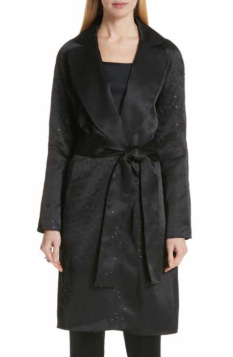 St. John Collection Sequin Silk Organza Jacket by ST. JOHN COLLECTION