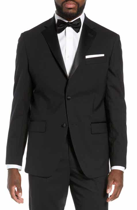Nordstrom Men S Trim Fit Stretch Wool Tuxedo Jacket