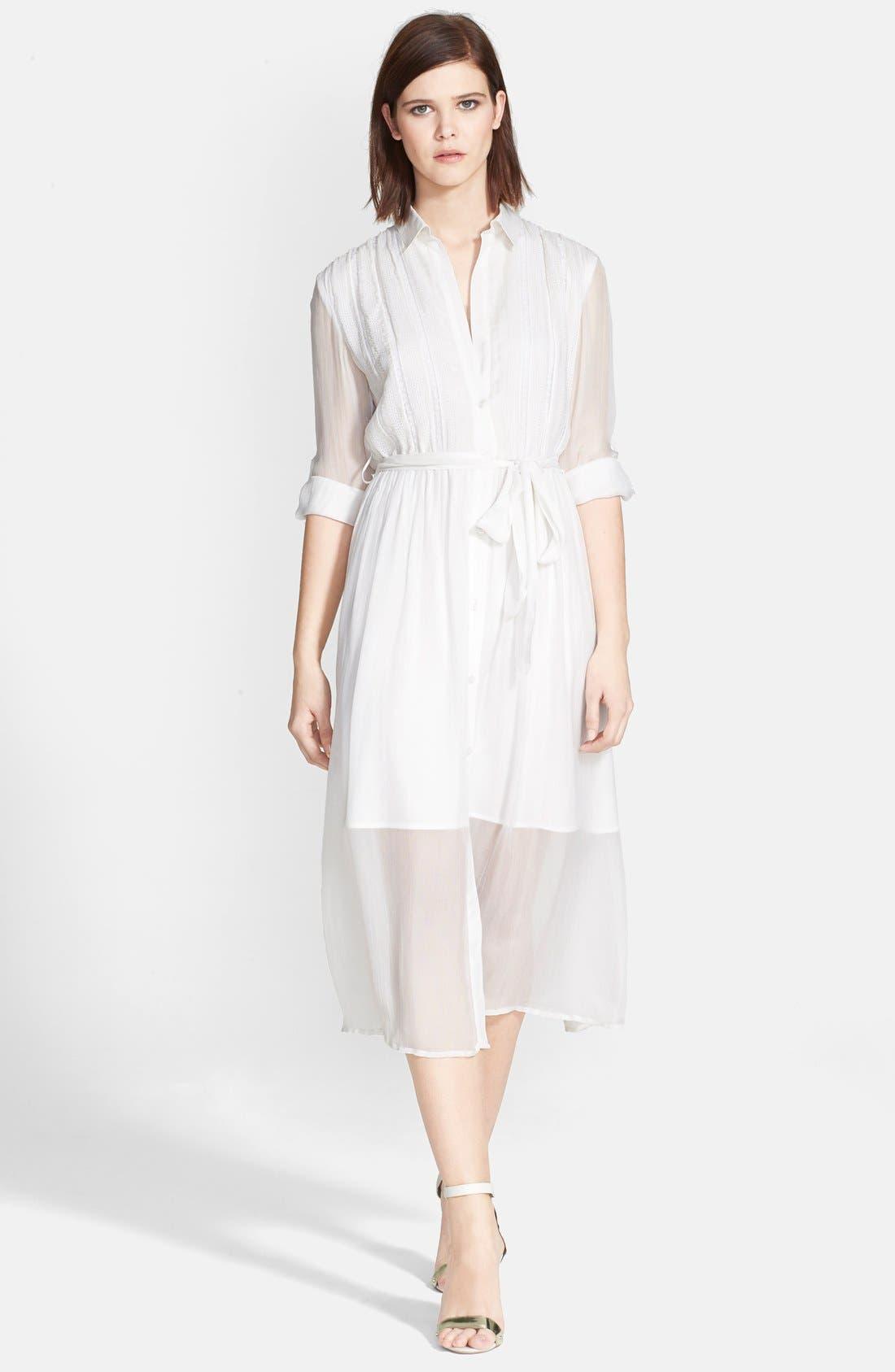 Alternate Image 1 Selected - Alice + Olivia 'Maia' Belted Shirtdress