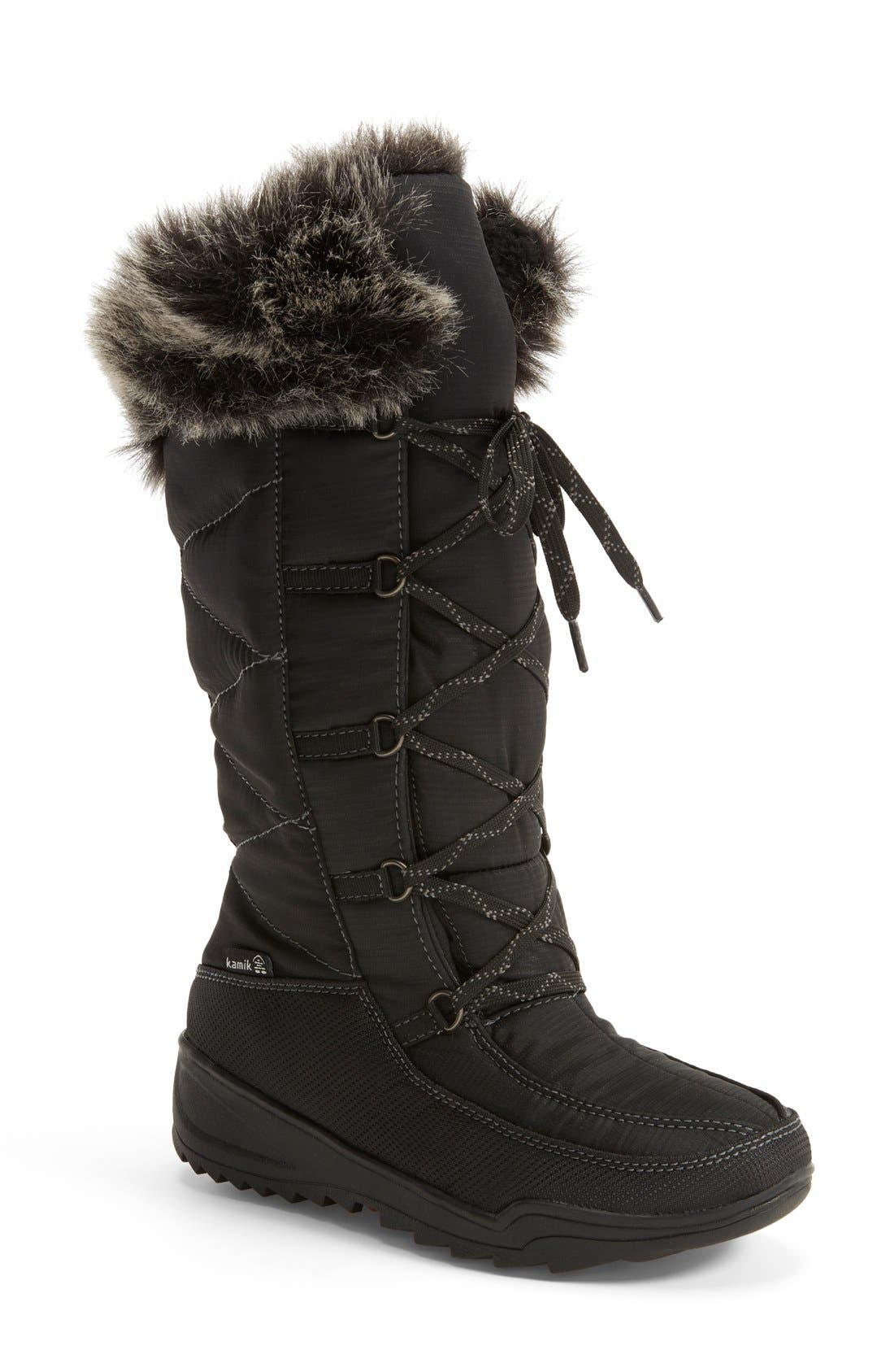 Alternate Image 1 Selected - Kamik 'Porto' Waterproof Winter Boot (Women)