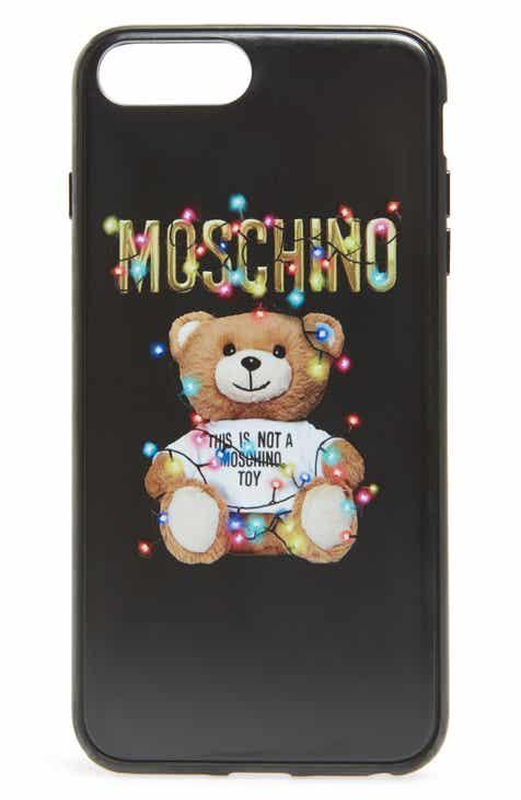 Moschino Christmas Teddy Iphone 7 8 Plus X Xs Case