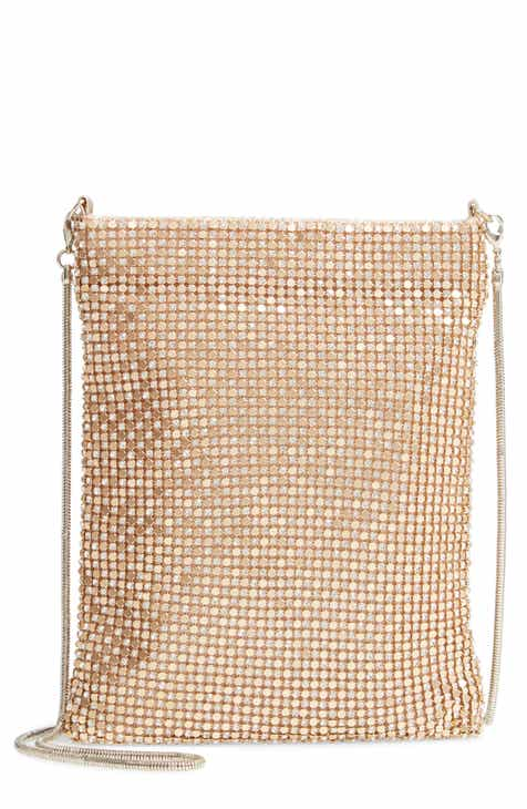 8826ac57a6 Nordstrom Crystal Mesh Crossbody Bag