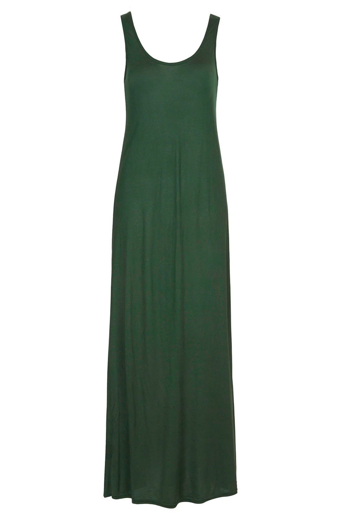 Alternate Image 3  - Topshop Knit Tank Maxi Dress