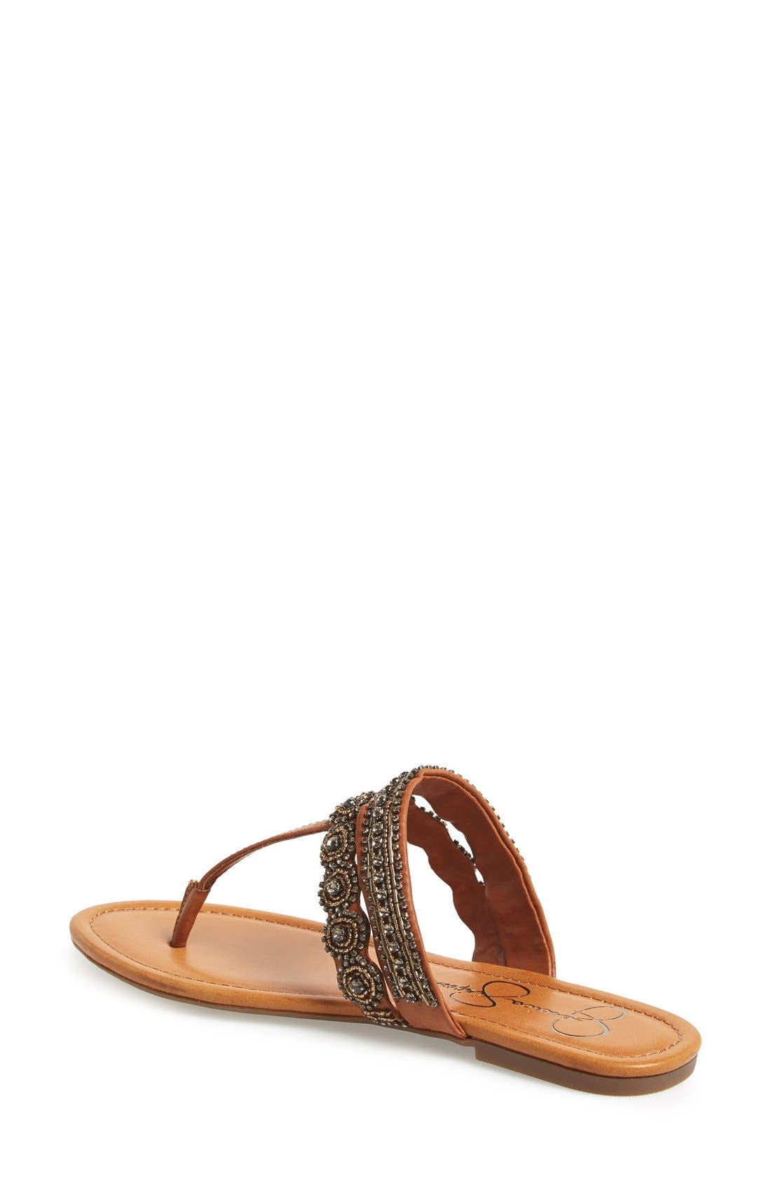 Alternate Image 2  - Jessica Simpson 'Roelle' Embellished Sandal (Women)