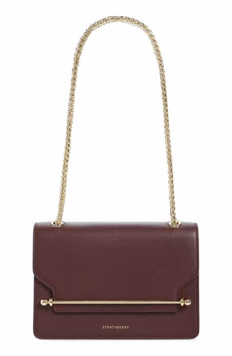 Strathberry East West Leather Crossbody Bag