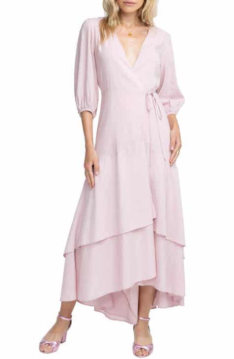 45a6996c83 ASTR the Label Shawna Wrap Maxi Dress
