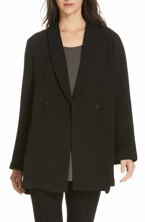 Eileen Fisher Double Breasted Blazer by EILEEN FISHER