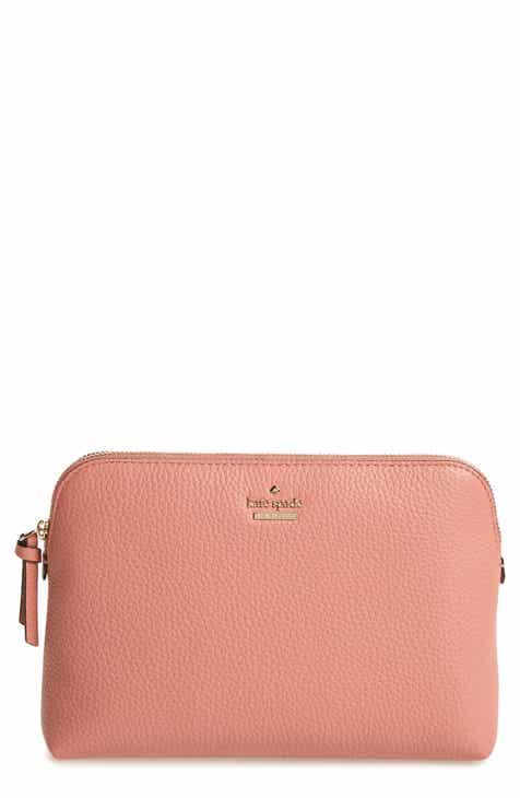 Kate Spade New York Jackson Street Small Briley Leather Cosmetics Bag