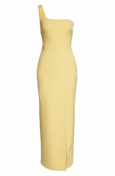 08edfa270e Vince Camuto One-Shoulder Column Dress