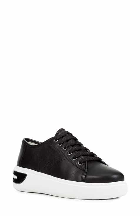 be0ac80b47 Geox Ottaya Leather Sneaker (Women)