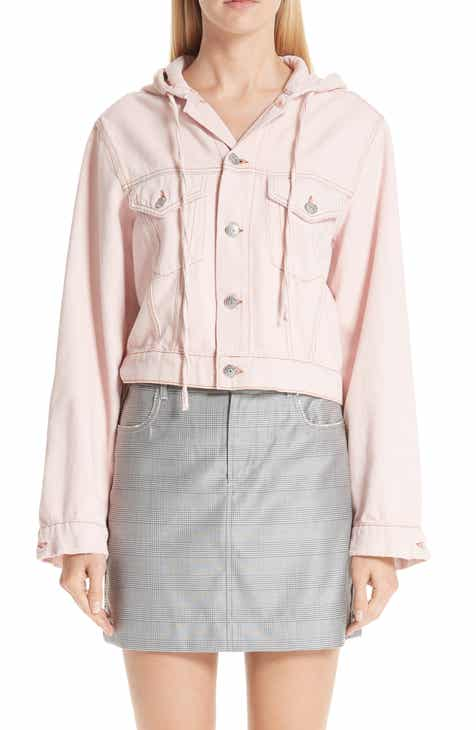 Ganni Washed Denim Jacket by GANNI
