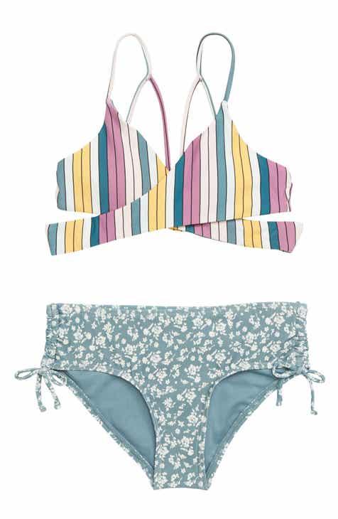 e0f68399ff727 O Neill Lora Two-Piece Swimsuit (Big Girls)